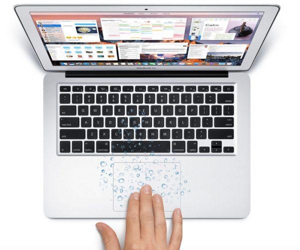 Zalany MacBook