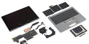 """MacBook Pro 13"""" rozebrany przez iFixit"""