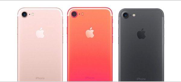 Czerwony iPhone 7S Applefix serwis pogwarancyjny Wrocław