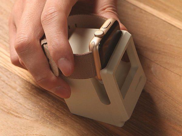 stacja ładująca dokująca do apple watch macintosh w kształcie macintosha applefix serwis pogwarancyjny wrocław