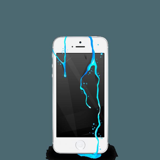Naprawa iPhone 5 po Zalaniu