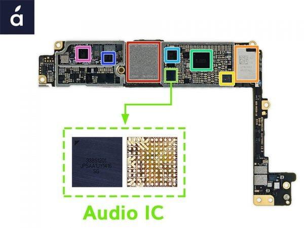 Tajemnicza usterka Audio IC iPhone 7 & 7 Plus - Sprawdźczy problem Ciebie dotyczy!