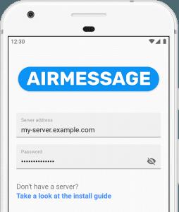 Aplikacja iMessage na Androida