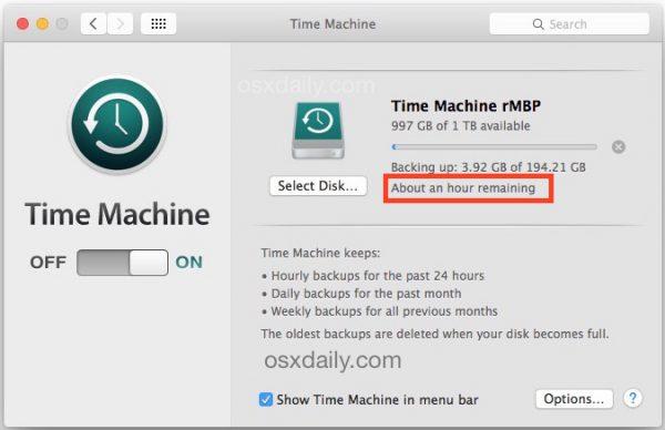 Jak zrobić backup Mac