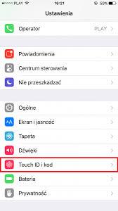 Tworzenie hasła iPhone