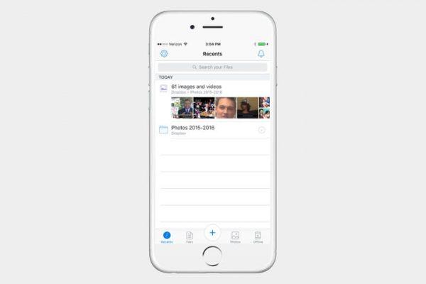 Jak przesłać zdjęcia z iPhone do Dropbox