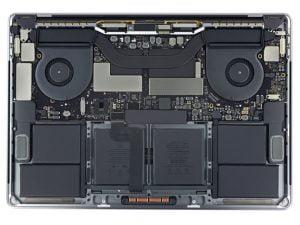 Czyszczenie MacBook Pro Retina