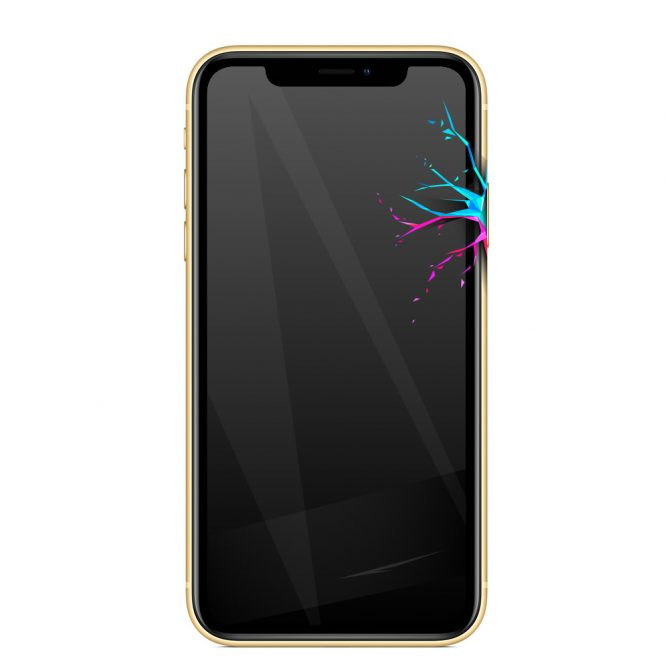Nie działa przycisk blokady iPhone XR