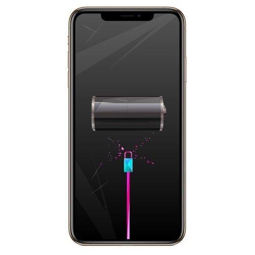 Wymiana gniazda ładowania iPhone XS Max