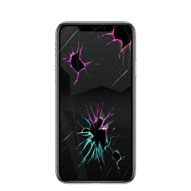 Wymiana szybki w iPhonie X