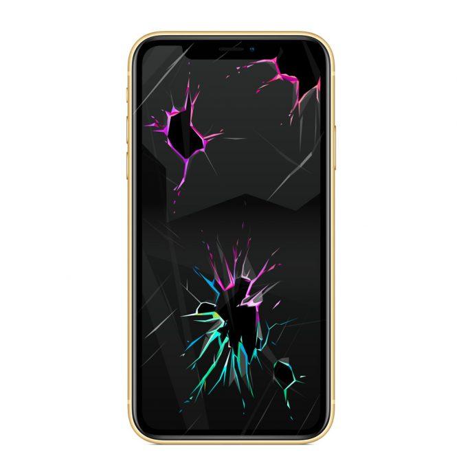 Wymiana szybki iPhone XR