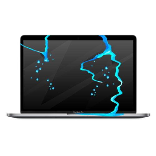 Zalany MacBook Pro